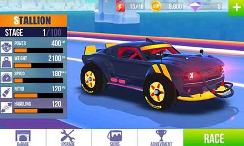 sup竞速驾驶无限金币无限钻石最新版