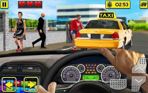 城市出租车驾驶游戏安卓版下载